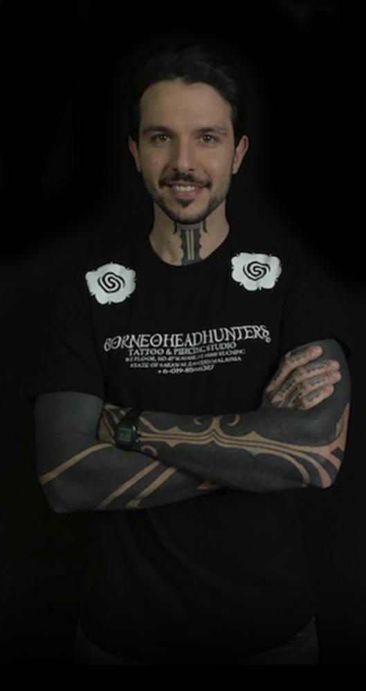 Nick black tattoo